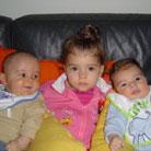 Charlotte, James & Maarten